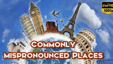 commonly mispronounced places