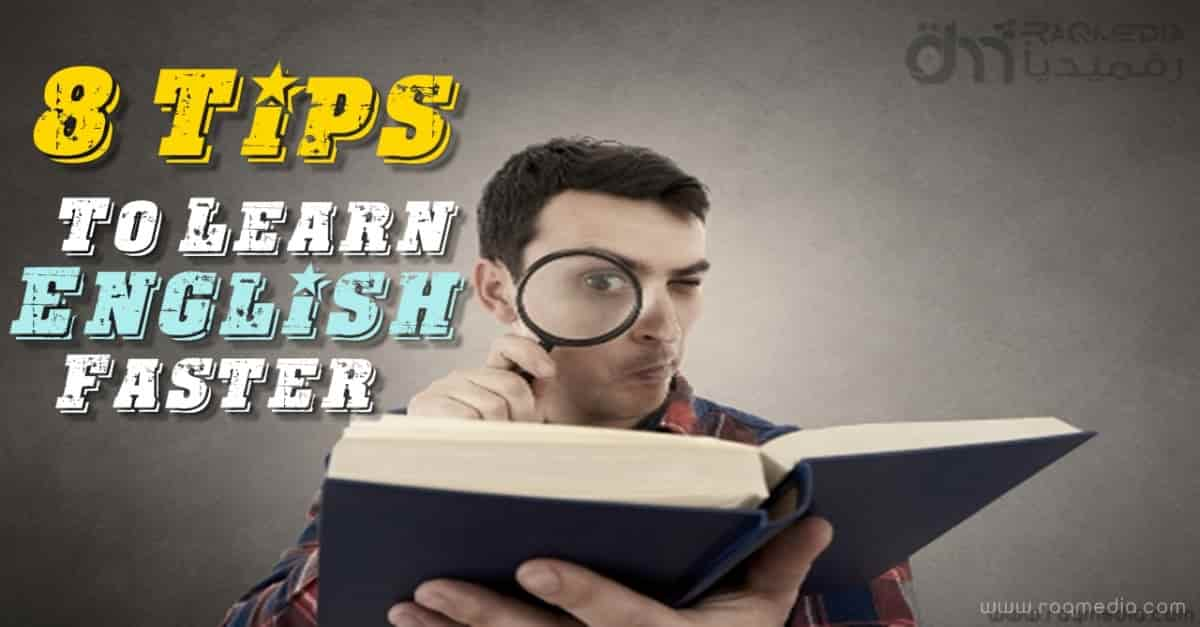 how to learn english faster at home