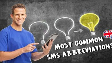 Vocabulary Lesson: Most Common SMS Abbreviations