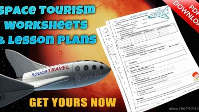 Free Space Tourism Worksheets and Lesson Plan