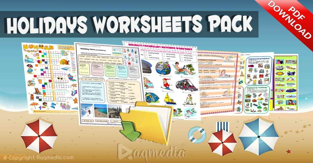 Printables, Warmers and Activities For English Teachers