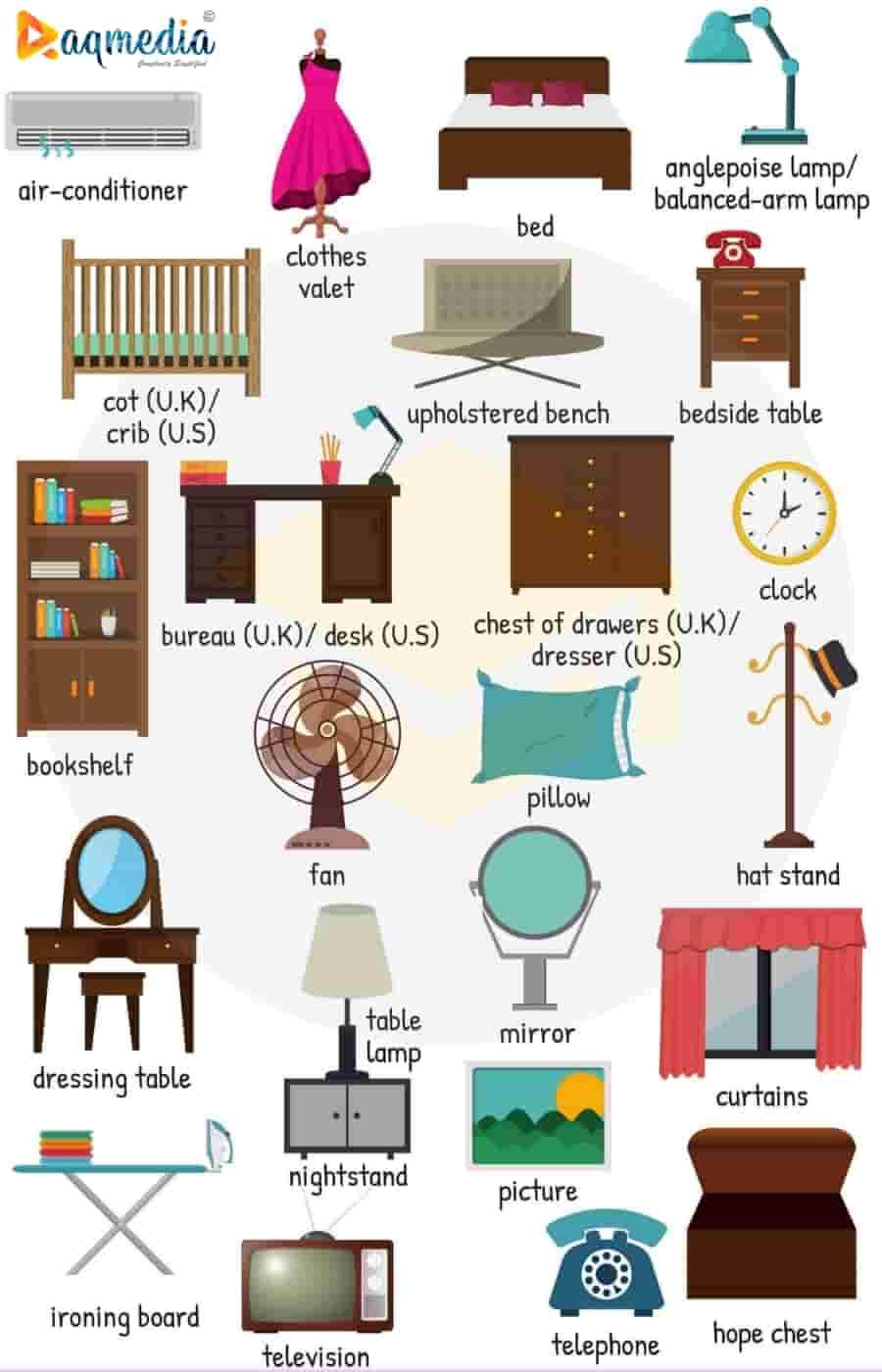 bedroom-furniture-names-in-english-esl-1